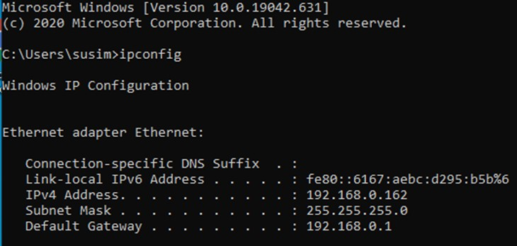 ip router dns