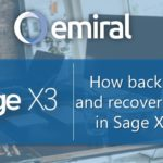 How to back up and recover data in Sage X3?