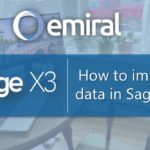 Data import in Sage x3