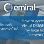 Access the VM of D365FO on the local home network