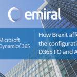 Brexit configuration Dynamics D365 FO and AX 2012