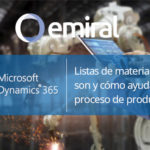 Dynamics 365 Listas de materiales