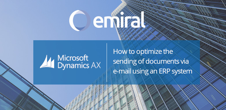 sending documents via email with erp